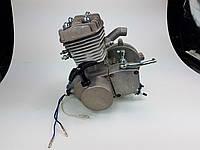 Веломотор 80куб со стартером без комплекта серый НОВЫЙ