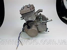 Веломотор 80см3 со стартером без комплекта серый НОВЫЙ