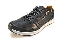 Кроссовки мужские TORSION кожаные черные (р.42,43)