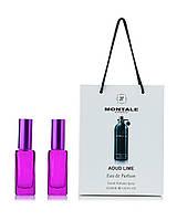 Парфюм в подарочной упаковке Aoud Lime Montale для мужчин и женщин  (2шт по 20мл)