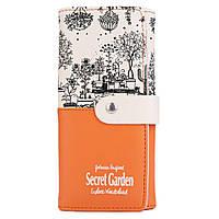 Кошелёк женский Botusi Secret Garden, оранжевый