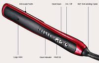 Расческа-выпрямитель с функцией ионизации ASL-908, электрическая расческа для выпрямления волос