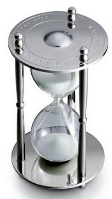 Песочные часы (30 мин.) D 76мм H 105мм Dalvey  D00779.
