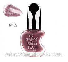 Malva cosmetics лак для нігтів Shine TECH 62