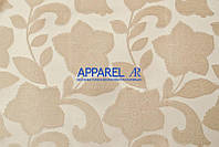 Мебельная ткань Renuar FLOWERS CREM  жаккард (производство Аппарель)