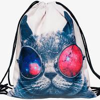 "Рюкзак-мешок ""Crazy Cat"""