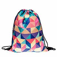 Рюкзак-мешок Triangles Colorful 2