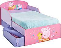 """Детская кровать """"Свинка Пеппа""""  HelloHome от Worlds Apart"""