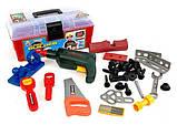 Набор инструментов 2059 в чемодане. Детская мастерская., фото 2
