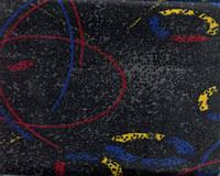 Ткань автомобильная BUS 19 DESIGN-BLACK RED (Производитель Bibtex)