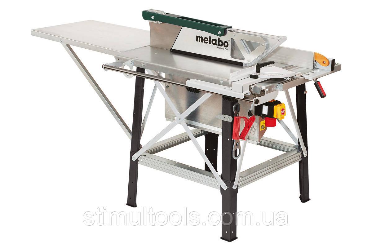 Циркулярная пила Metabo BKS 400 PLUS - 4,2 DNB(Несмонтированная)