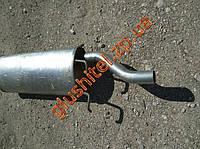 Глушитель ЗАЗ Форза (Forza) седан алюминизированный Черновцы (Sks), фото 1
