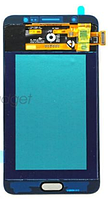 Тач (сенсор) + матрица Samsung Galaxy J7 (2016) J710F золотой  модуль