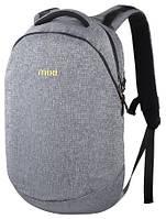 """Рюкзак для ноутбука Mixi 15"""", серый"""