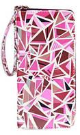 Кошелёк женский Bellezza Graffiti, розовый