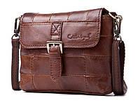Мини-сумка женская из натуральной кожи Cobbler Legend Kiwi