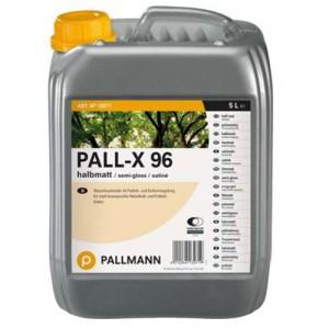 Паркетний лак на водній основі Pallmann Pall-X 96 (матовий) 5л