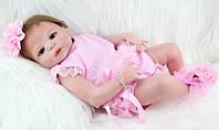 Кукла реборн силиконовая девочка. (929), фото 1