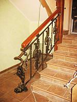 Самые красивые кованые лестницы фото