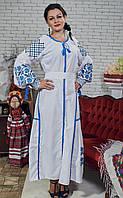 """Плаття з вишивкою """"Коломиянка"""""""