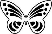 Чарівна мить Фигурный компостер Бабочка