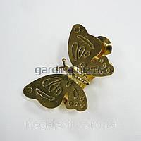 Прищепка для штор бабочка золото
