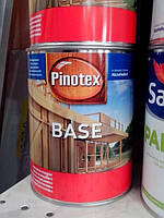 Грунтовка для дерева Pinotex BASE база антисептик для наружных работ 1л