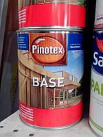 Грунтовка для дерева Pinotex BASE антисептик для наружных работ 1л