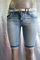 Капри джинсовые Moon Girl 1856