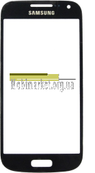 Скло модуля Samsung i9190 original чорне, фото 2