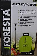 Акумуляторний обприскувач Foresta BS-12, фото 1