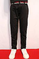 Осенние, стрейчевые котоновые брюки черного цвета, для мальчиков от 4 до 12 лет (116-152см.). Польша