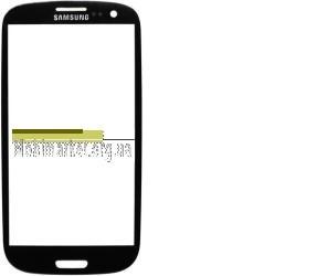 Стекло модуля Samsung i9300 original черное