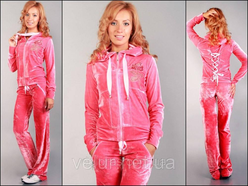 b03d44faf70b Женский спортивный костюм из велюра, купить в розницу, разм XS, S ...