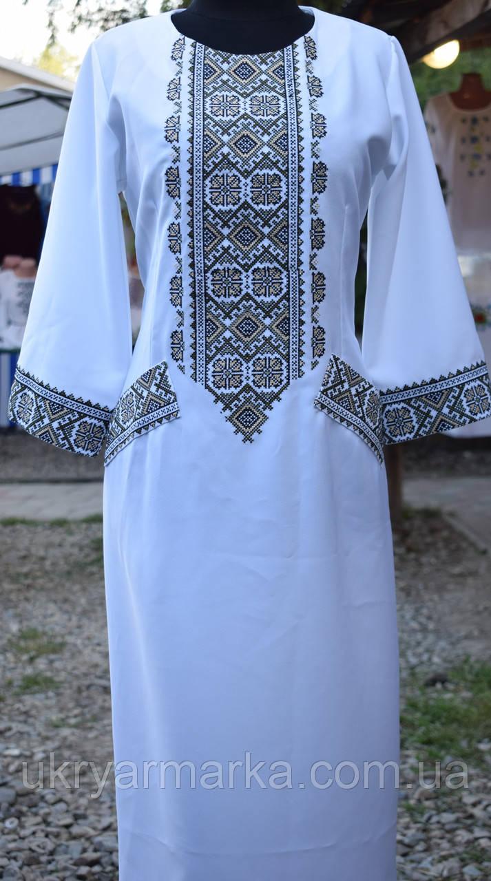 Машинна вишивка плаття 4a53e656ee8e8