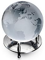 Хрустальный глобус на подставке D80мм H105мм  (*G801) Dalvey D00803.