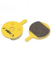 Колодки дисковые ALHONGA HJ-DS30 Promax модель DSK-400, DSK-601, J&X NINE organic black