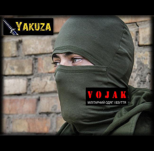 "Маска - балаклава ""YAKUZA"" Олива"