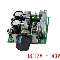 ШИМ регулятор,оборотов, скорости мотора DC 12-40V 10A 13КГц PWM (C7A3)