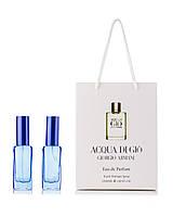 Парфюм в подарочной упаковке Acqua di Gio Giorgio Armani  40 мл(2шт по 20мл)