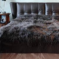 Покрывало из натурального меха ламы, украинское производство