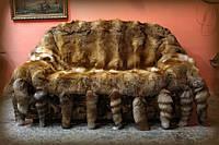 Покрывало из натурального меха, производство Украине