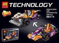 Конструктор Lele серия Technology 38003 Гоночный карт (аналог Lego Technic 42048)