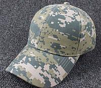 Камуфляжная бейсболка кепка. Для отдыха рыбалки, охоты