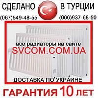 22 500х1100 VК с Нижним подключением Радиатор Стальной - от Импортёра (Турция)