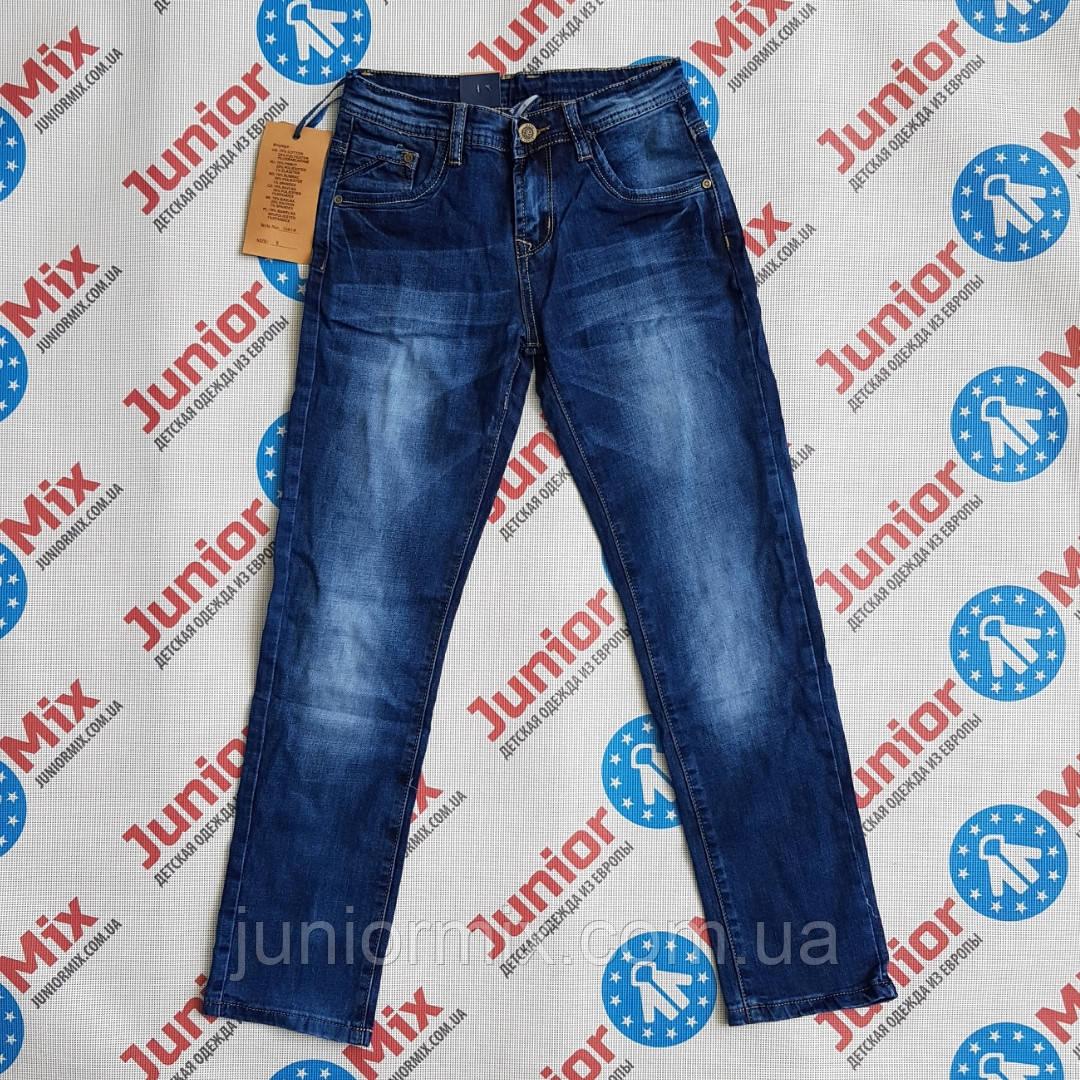 Подростковые джинсы для мальчика  ростовка от 8 до 16 лет Buddy Boy