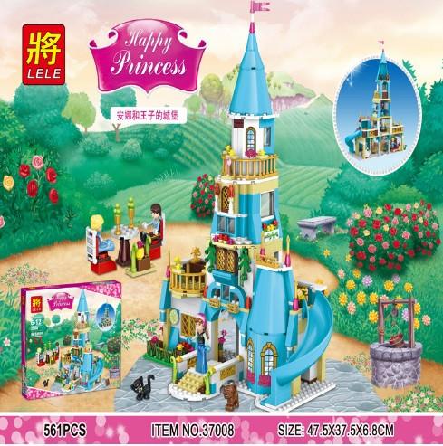 Конструктор Lele Princess / Принцесса 37008 Замок принцесс (аналог Lego Disney Princess)