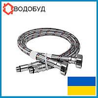 Подводка к смесителю в нерж. оплетке 80 см, 1/2хМ10