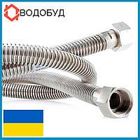 Gross сильфонная подводка для газа L-200 см D 1/2 гайка-гайка