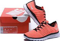 Кроссы найк  Nike Free Flyknit NSW Lava/White от магазина tehnolyuks.prom.ua 099-4196944